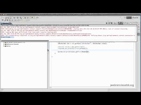 Spring Tutorial 40 - Returning Other Datatypes from JdbcTemplate
