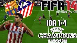 FIFA 14| UEFA Champions League| FC Barcelona Vs