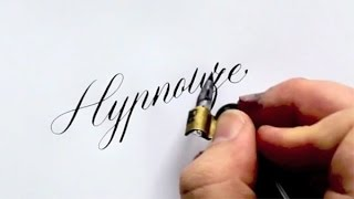 Artista de la caligrafía