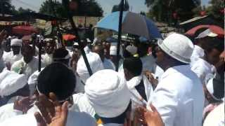Ethiopian  Timket (Epiphany) Orthodox Tewahedo Church  or Timket Ketera at Kirkos (Cherko)
