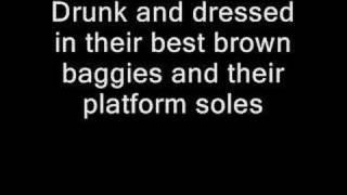 Dire Straits - Sultans of Swing lyrics