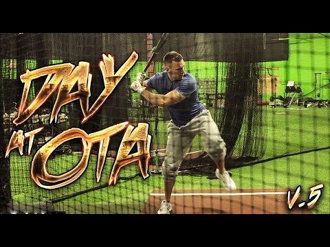 DAY AT OTA v.5 [Batting with the pros]