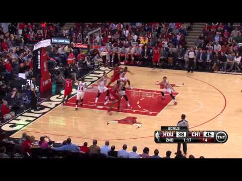 Houston Rockets vs Chicago Bulls | March 13, 2014 |NBA 2013-14 Season