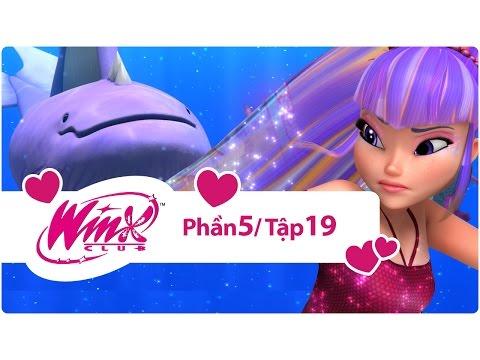 Winx Club - Phần 5 Tập 19 - Khúc hát của cá voi - [trọn bộ]
