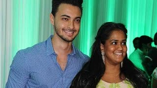 Arpita With Her Husband Aayush At Baba Siddiqui's Iftaar Party 2015