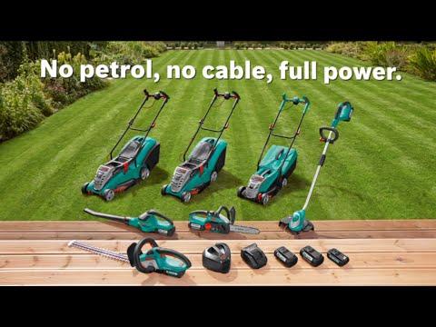 Features of: The Bosch 36 Volt Garden Range