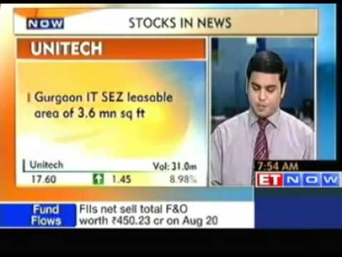 Stock In News : Apollo Tyres, Federal Bank, Unitech