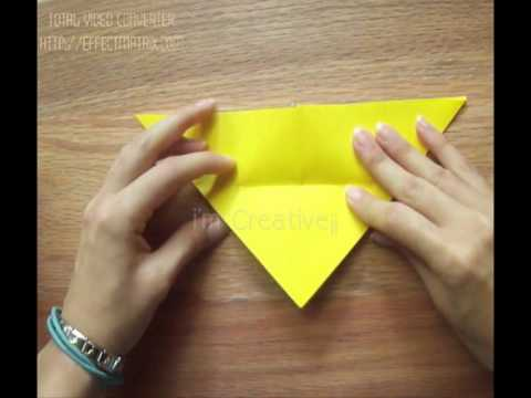 Mariposa de papel como hacer youtube - Como hacer mariposas de papel ...