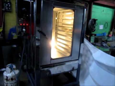 Horno Industrial para panaderias de 5, 7 8 bandejas en Managua.wmv