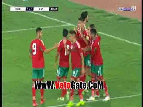 الهدف الأول للمغرب في شباك مصر