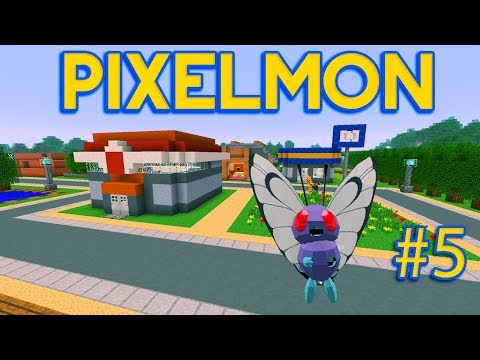 Minecraft Pixelmon Adventures Ep 5 Reaching The