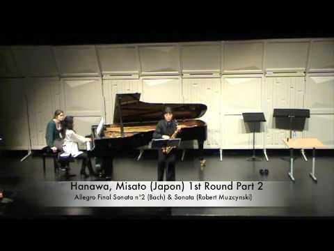 Hanawa, Misato (Japon) 1st Round Part 2
