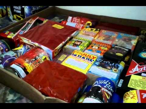 The godfather firework assortment unboxing/review