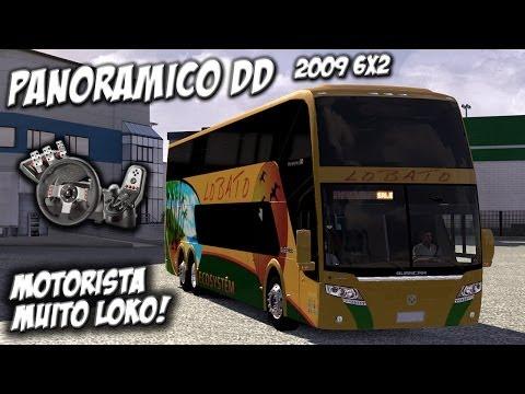 Euro Truck Simulator 2 - Panoramico DD 2009 6x2 - Ônibus - Com Logitech G27 - Blog do Vaz
