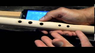 Blue Bear Flutes Native American Flute Kit: Tuning Your Flute