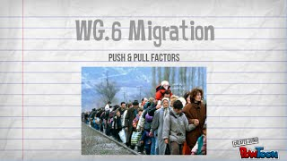 Push and pull factors of immigration essay