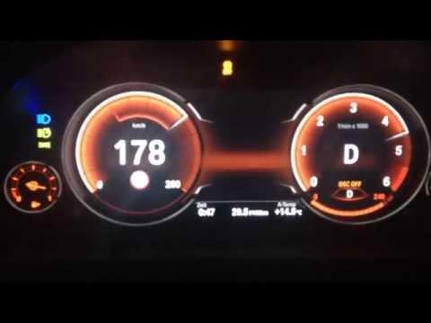 BMW 535d xDrive GT M-Paket (313 PS) 0-250 km/h Launch Control