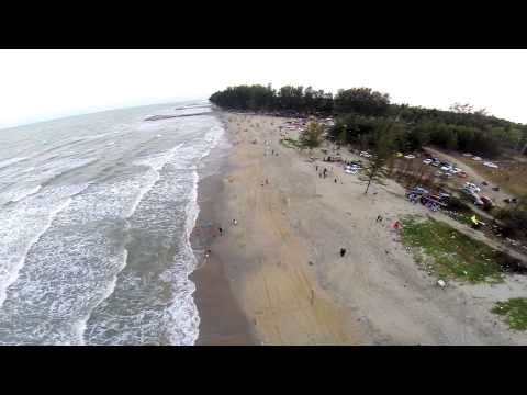 Dji Phantom 2 Fly At Bachok Beach Kota Bharu