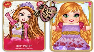 Ever After High Holly O'Hair Babies Care Once Upon A Time