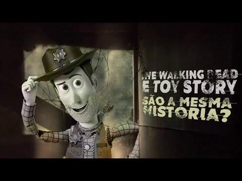 TOY STORY E THE WALKING DEAD SÃO A MESMA HISTÓRIA? - CG#14