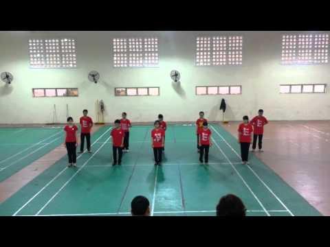 [FTU] Aerobic - biệt đội siêu nhân đỏ