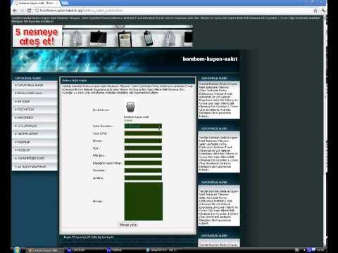 Bombom Kupon Hilesi (Hack) %100 WORK 19.07.2013