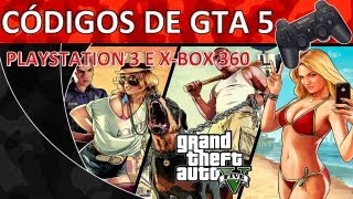 GTA V Cheats/Códigos GTA 5 Grand Theft Auto V PT