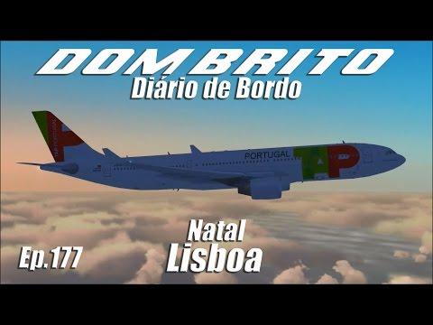 FS2004 - Airbus A330-200 TAP - Natal / Lisboa - Ep.177