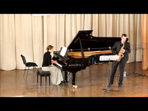 GOLDEN SAXOPHONE 2015. Philip Attard. Roberto Marino «Duo Concerto»