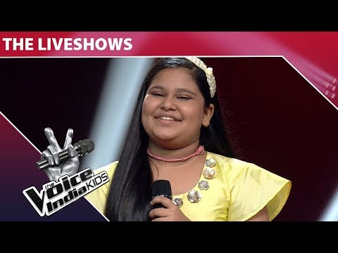 Sneha Performs On Der Naa Ho Jaaye Kahin - Episode 21 - Jan 20, 2018 - The Voice India Kids Season 2