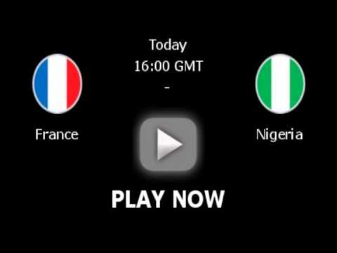 France vs Nigeria, World Cup 2014: live