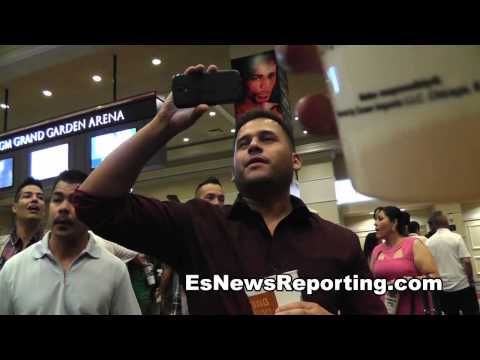 robert garcia getting lots of love from boxing fans EsNews