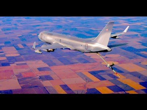 طائرات مغربية والوقود في الجو