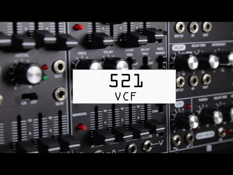 Roland System 500 Modular Synth - 521 Dual VCF Module