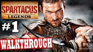 SPARTACUS LEGENDS: Gameplay Walkthrough SWORD & SHIELD