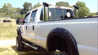 FORD F-250 SUPER DUTY 4X4 POWER STROKE TURBO DIESEL
