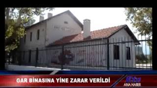 Horozköy Gar Binasına Zarar Verdiler