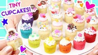 How to Make MINIATURE Cupcakes (100% Edible)!
