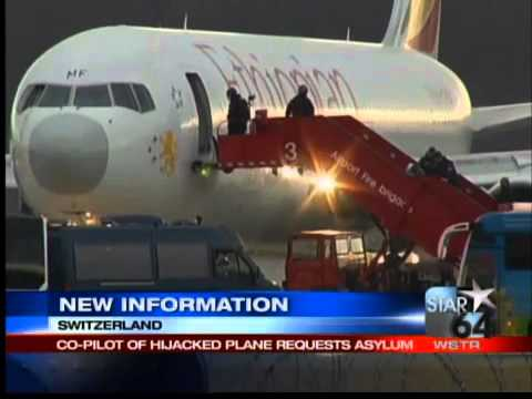 Co-pilot hijacks Ethiopian Airlines flight