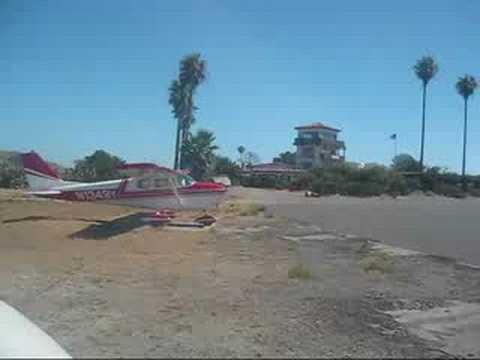 Catalina Island Cessna 172 Landing
