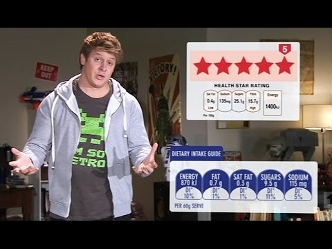 ***** STAR WARS (HEALTH STAR RATINGS) | The Checkout | ABC1