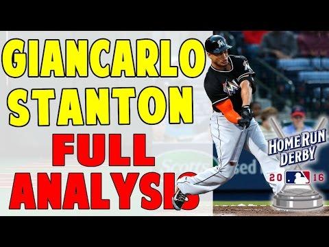 Giancarlo Stanton FULL Swing Analysis | Setup to Finish (Pro Speed Baseball)