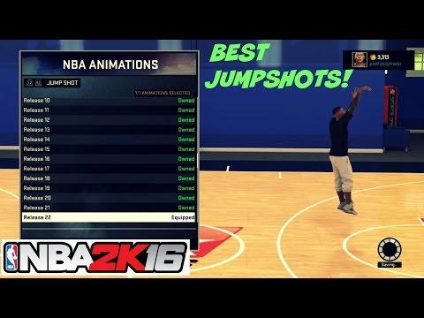 NBA 2K16  Top 3 Best JumpShots   Myplayer , Mycareer, Mypark , Stage - Prettyboyfredo