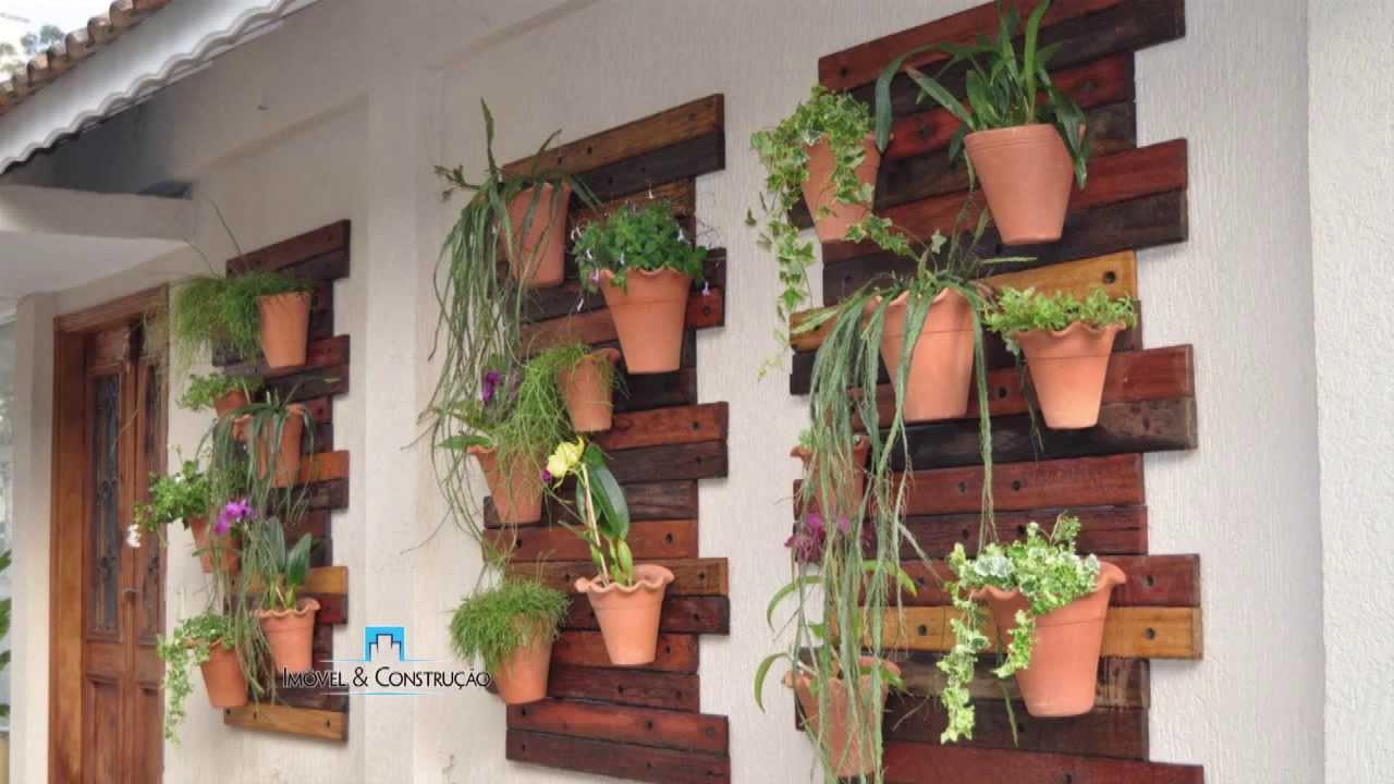 Jardim em espaço pequeno  Programa Imóvel & Construção  YouTube