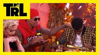 The Thanksgiving Grace-Off: DC Young Fly vs Nick Cannon | TRL Weekdays at 4pm