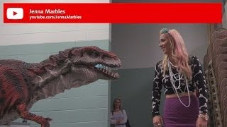 Kojo the Dinosaur at Playlist Live 2014 - feat Jenna Marbles...