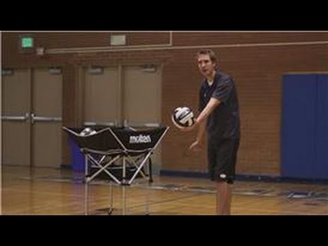 Volleyball : How to Serve a Volleyball, Serving a volleyball is most easily done by utilizing the underhand serve, which requires you to hold the ball in your non-dominant hand and strike the ball ...