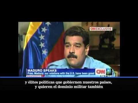 Entrevista de Christiane Amanpour a Nicolás Maduro