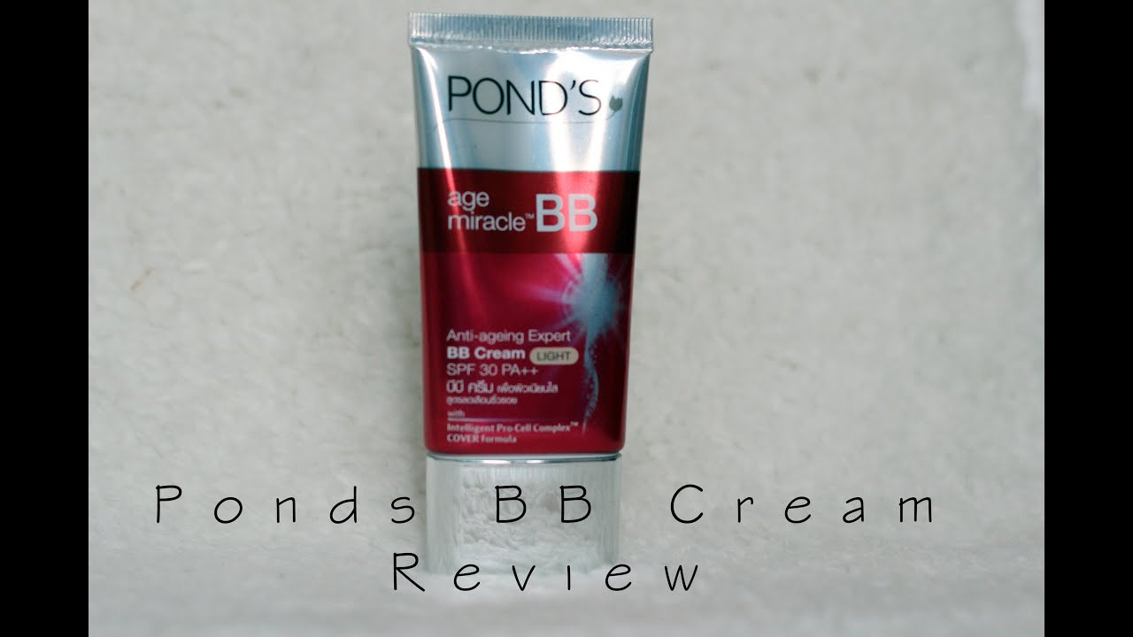 Ponds Bb Cream Review Youtube