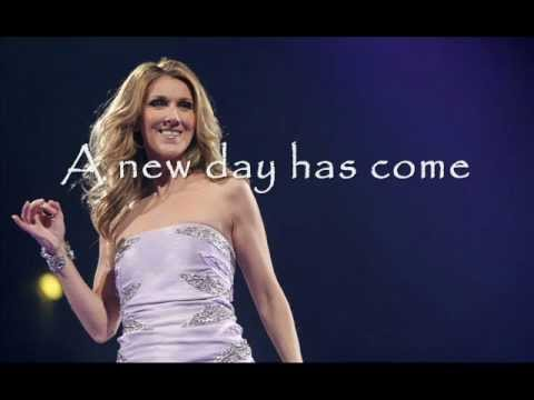 Lyrics of a new day has come celine dion